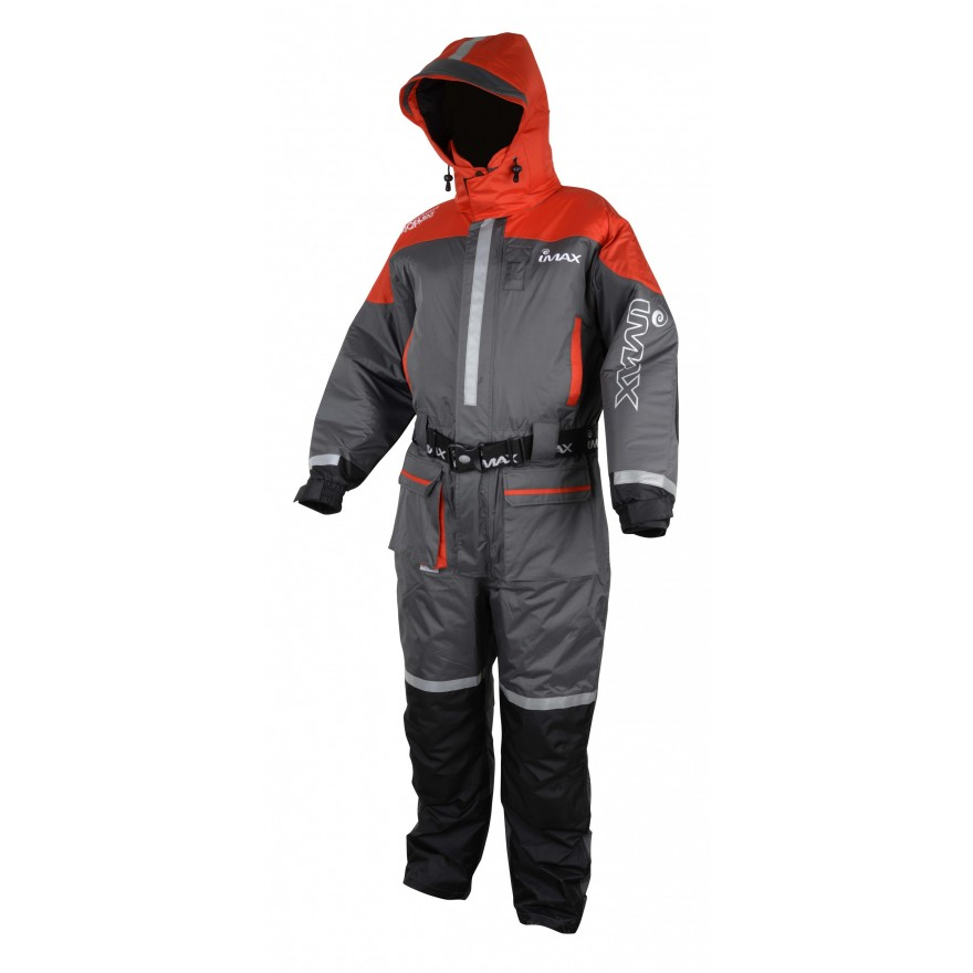 Imax Ocean Floatation Suit Grey/Red sz XL - 1pcs